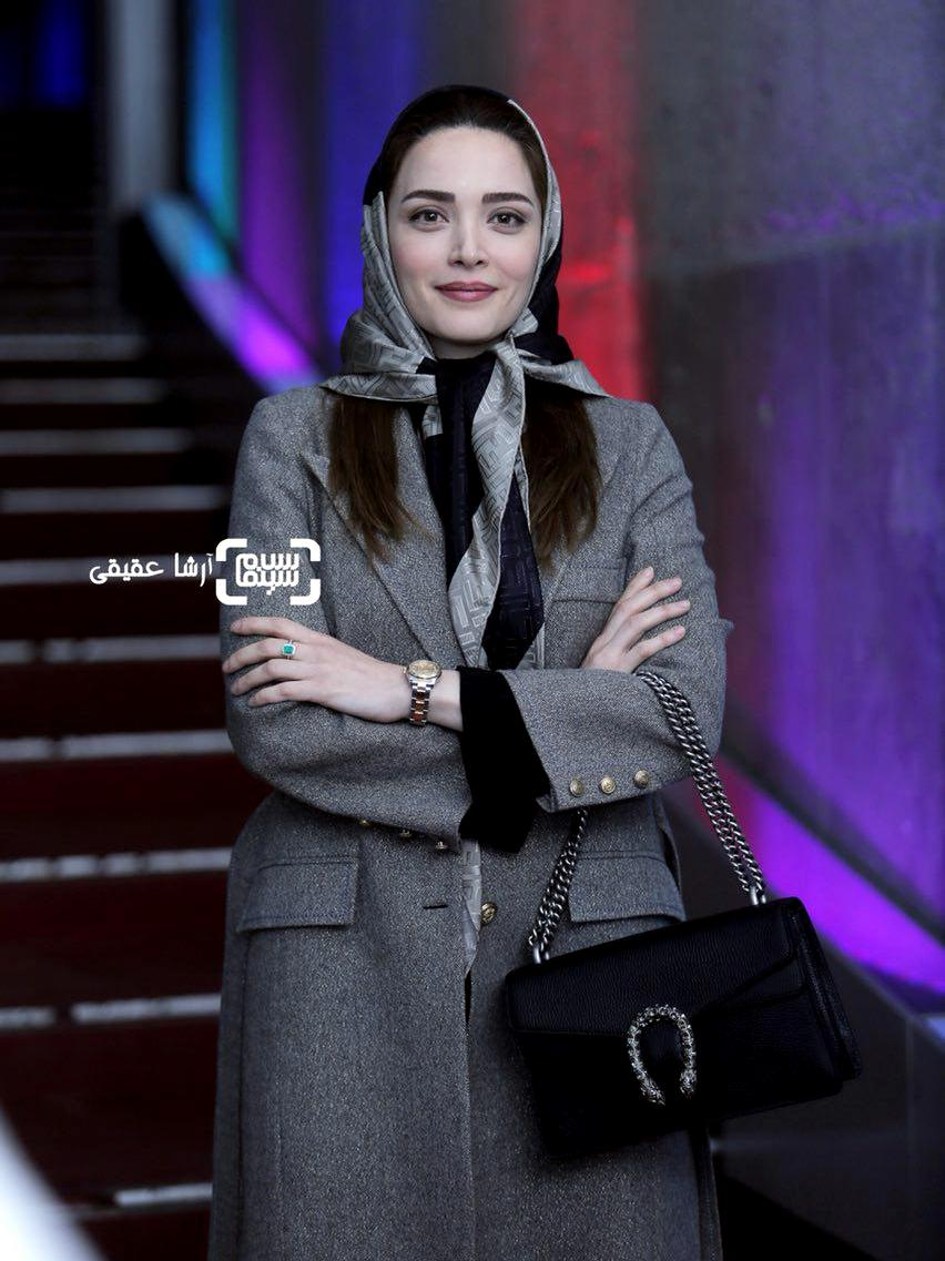 بهنوش طباطبایی برای تماشای فیلم «دارکوب» در کاخ رسانه جشنواره فیلم فجر36