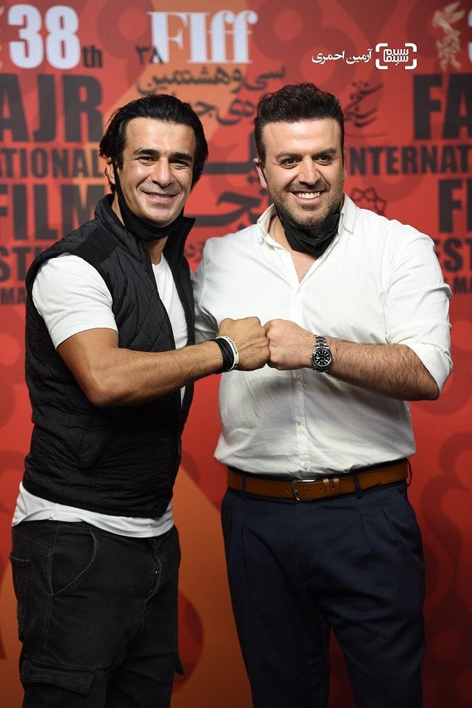 بهرنگ علوی - یوسف تیموری - سی وهشتمین جشنواره جهانی فیلم فجر