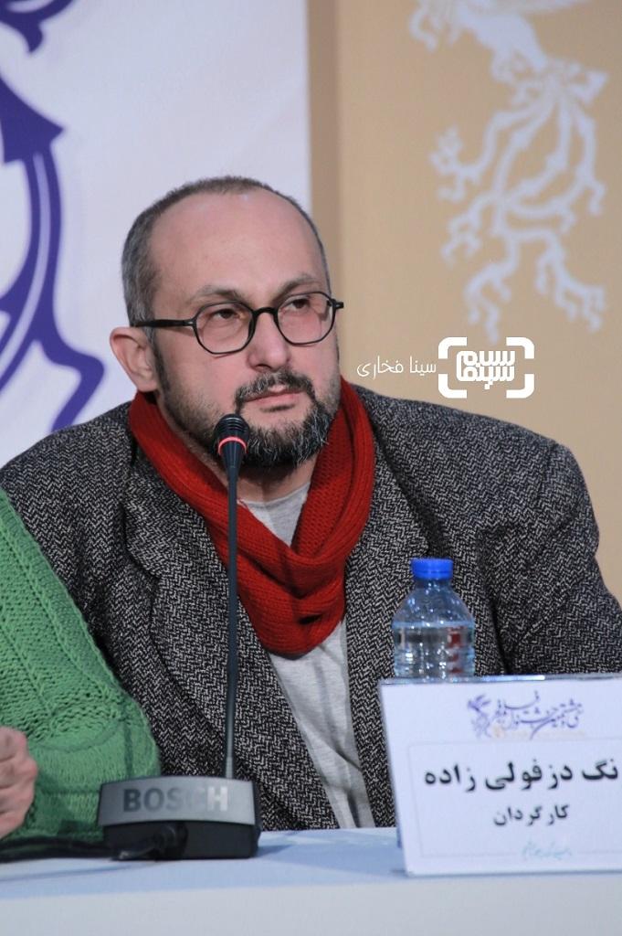بهرنگ دزفولی زاده - گزارش تصویری - نشست خبری فیلم «بی صدا حلزون» در جشنواره فجر 38
