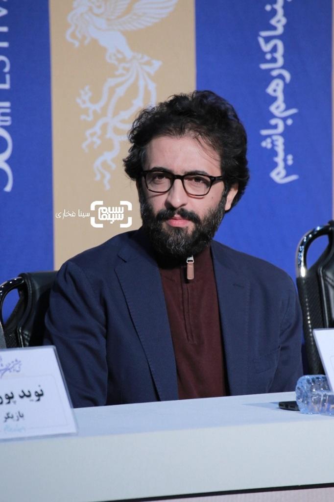بهروز شعیبی - گزارش تصویری - نشست خبری فیلم «مغز استخوان» - جشنواره فجر 38