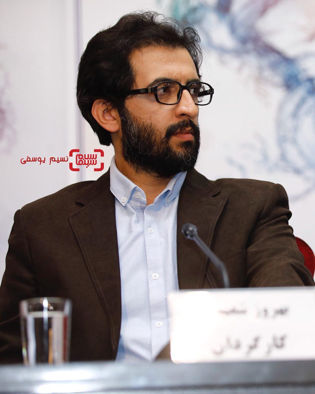 بهروز شعیبی برای تماشای فیلم «دارکوب» در کاخ رسانه جشنواره فیلم فجر36