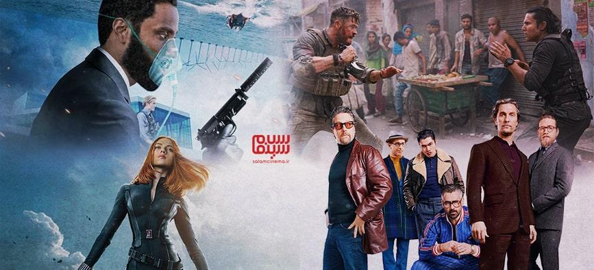 بهترین فیلم های اکشن سال 2020 کدامند؟