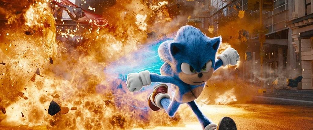 بهترین انیمیشن های سال 2020 - انیمیشن «سونیک خارپشت» (Sonic The Hedgehog)
