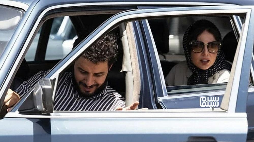 جواد عزتی و رعنا آزادیور در گریم دهه شصتی- بهترین دیالوگ های سریال زخم کاری