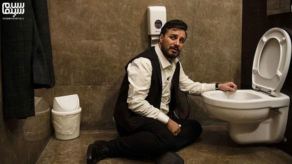 جواد عزتی در حال بالا آوردن- بهترین دیالوگ های سریال زخم کاری