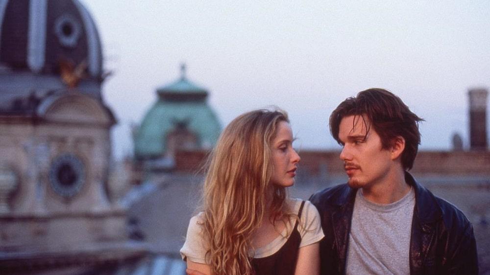 بهترین فیلم های سینمایی جهان در ژانر درام و عاشقانه - پیش از طلوع (Before Sunrise)