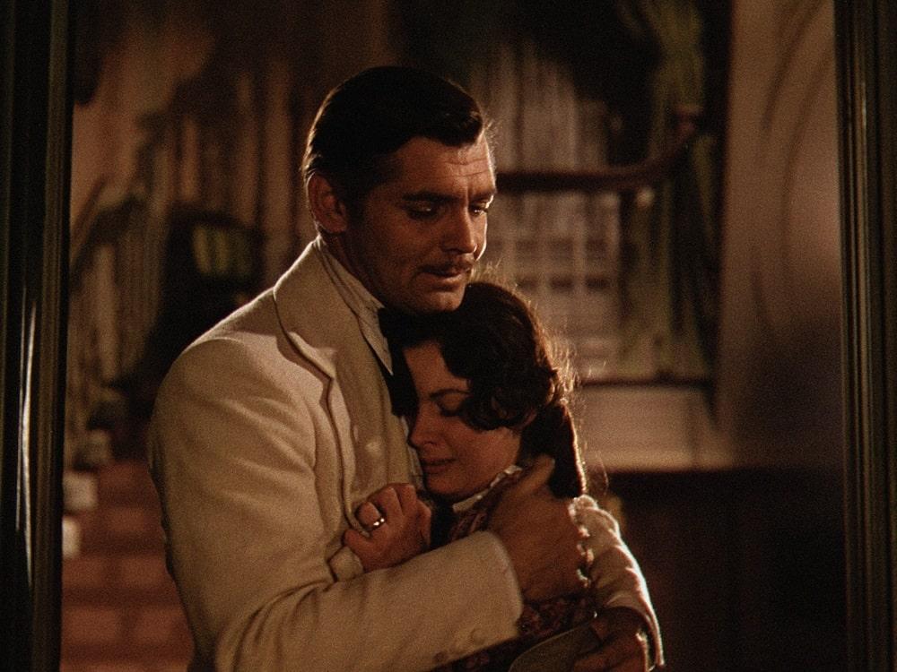 بهترین فیلم های سینمایی جهان در ژانر درام و عاشقانه - بر باد رفته (Gone with the Wind)