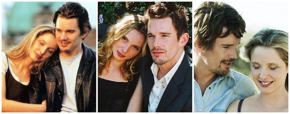 بهترین فیلم های سینمایی جهان در ژانر درام و عاشقانه - سه گانه پیش از (Before)
