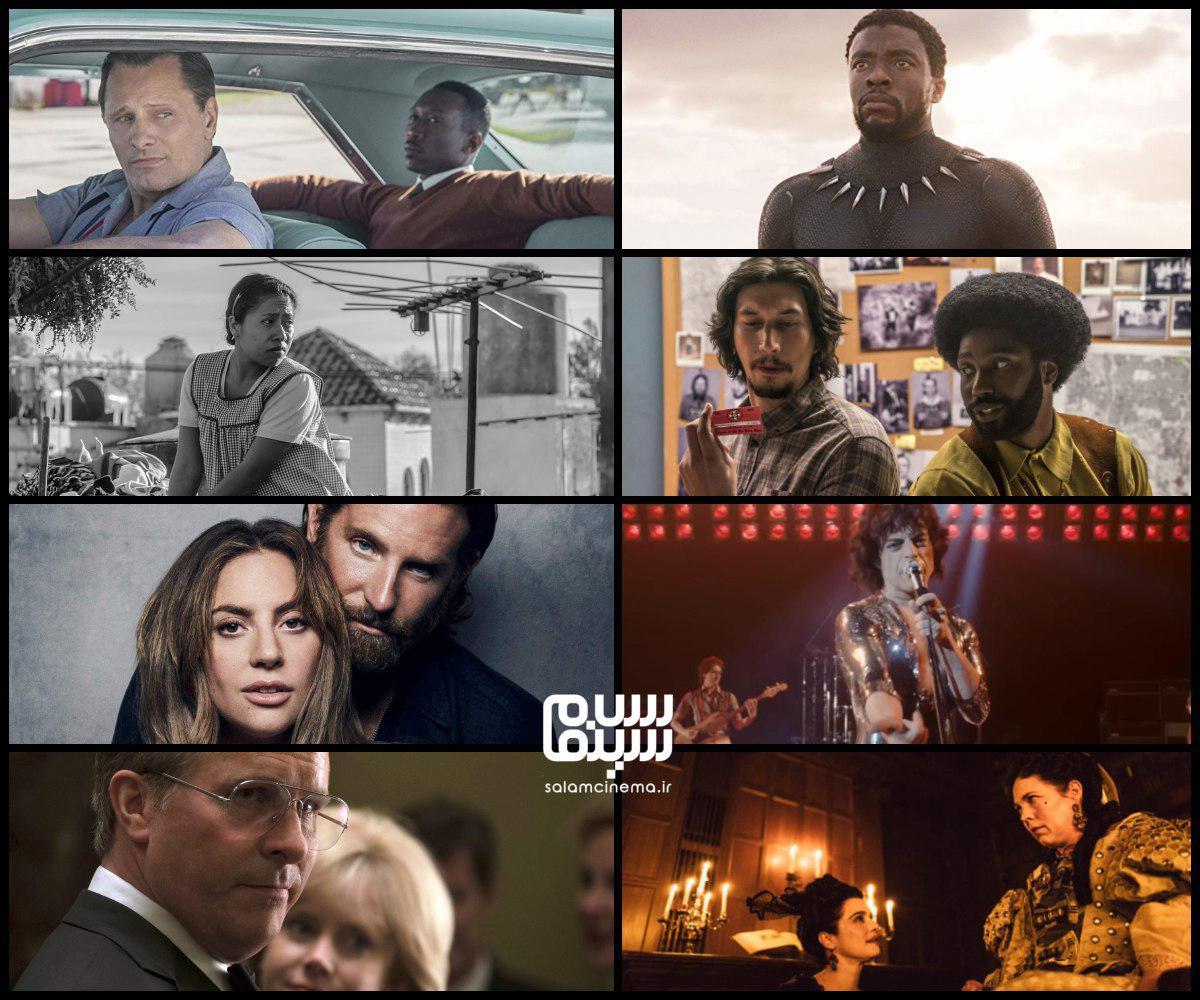 نامزد بهترین فیلم اسکار 2019