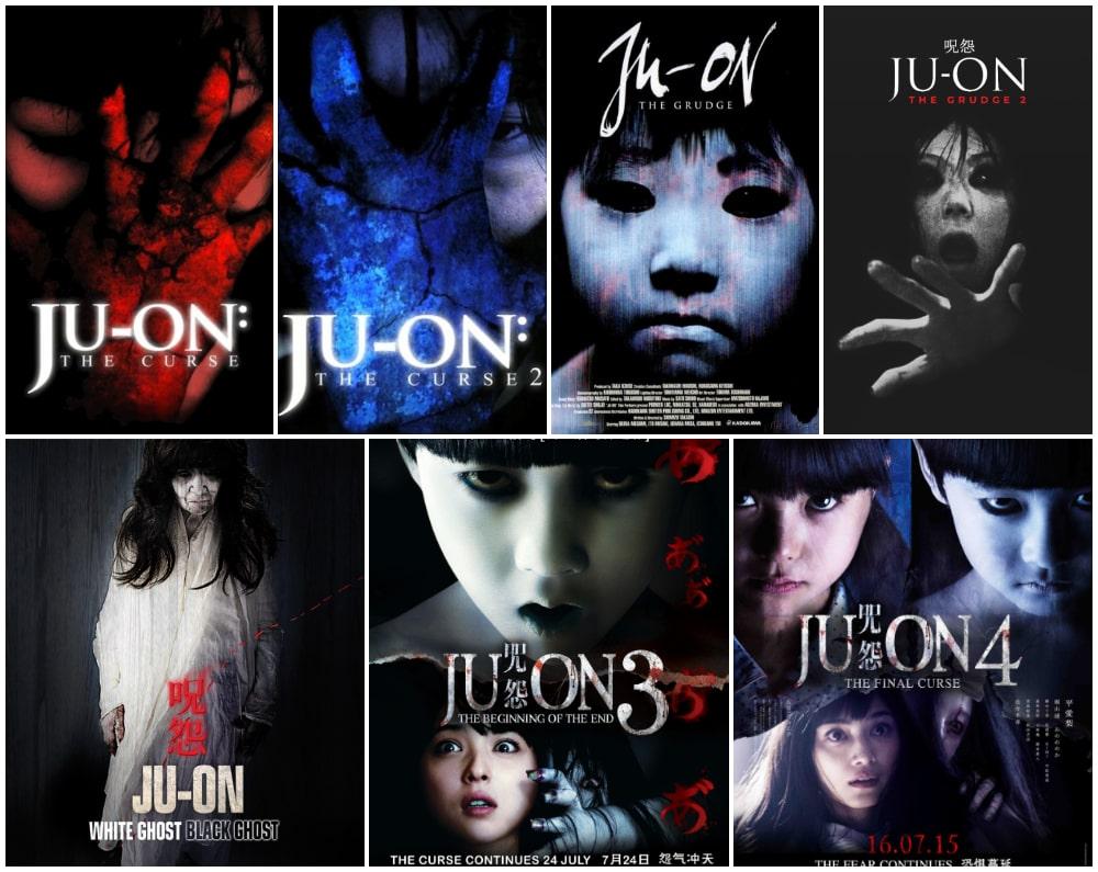 ترسناک ترین فیلم های جنی و روحی - پوستر سری فیلم های جو آن