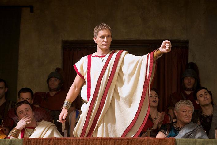 نمایی از سریال« اسپارتاکوس »