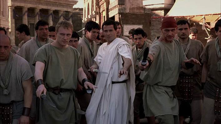 نمایی از سریال تاریخی « رم »