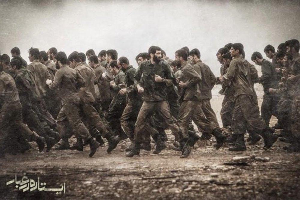 بهترین فیلم های جنگی دفاع مقدس- ایستاده در غبار
