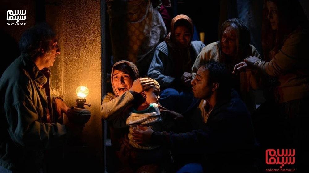 پناهگاه جنگی در فیلم بمب یک عاشقانه- بهترین فیلم های عاشقانه جنگی دفاع مقدس