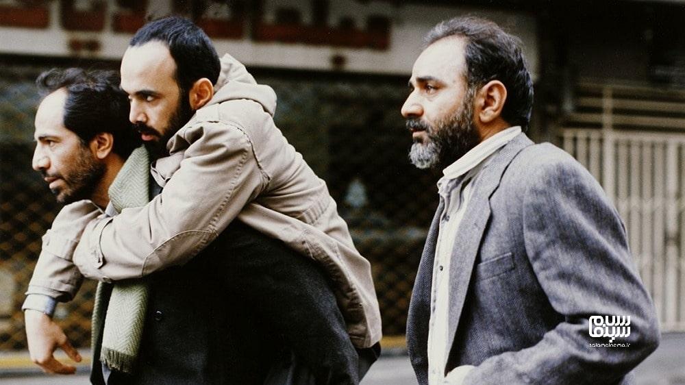 پرویز پرستویی در کنار حبیب رضایی- فیلم های عاشقانه جنگی ایرانی