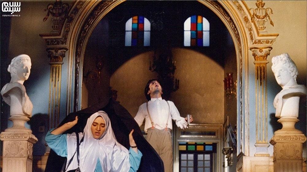 رویا نونهالی با چادر در عروسی خوبان- بهترین فیلم های عاشقانه جنگی ایرانی
