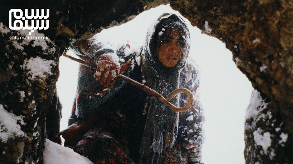 گلشیفته فراهانی در اشک سرما- بهترین فیلم های عاشقانه  جنگی ایرانی دفاع مقدس