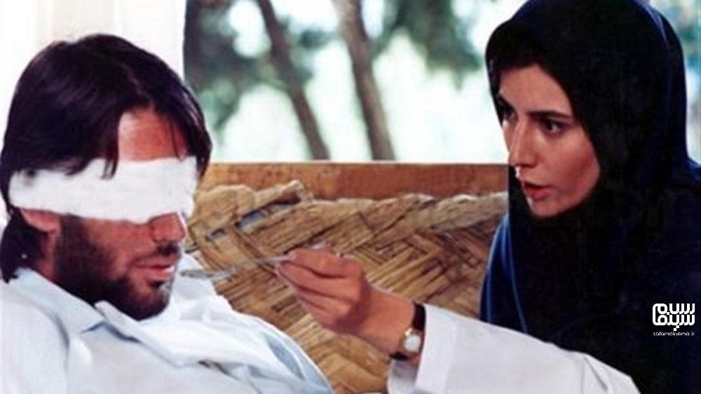 لیلا حاتمی در لباس پرستاری در شیدا- بهترین فیلم های عاشقانه جنگی دفاع مقدس