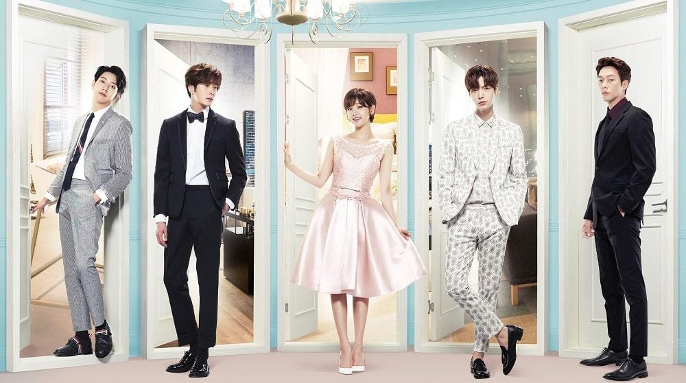 بهترین و محبوب ترین سریال های کره ای عاشقانه و کمدی - سیندرلا و چهار شوالیه