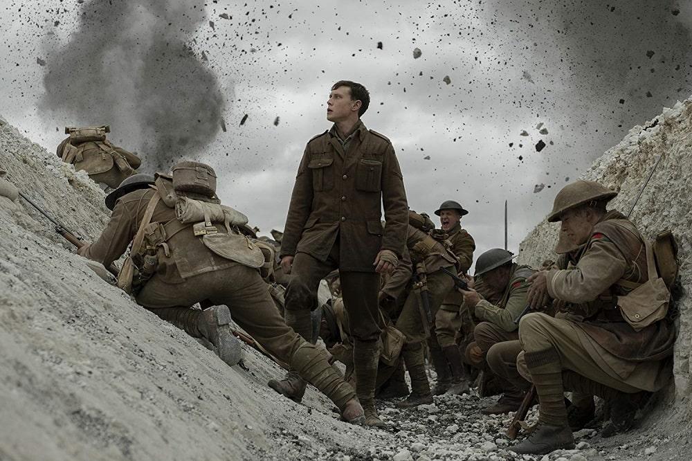 بهترین فیلم ها درباره جنگ جهانی اول و دوم - 1917