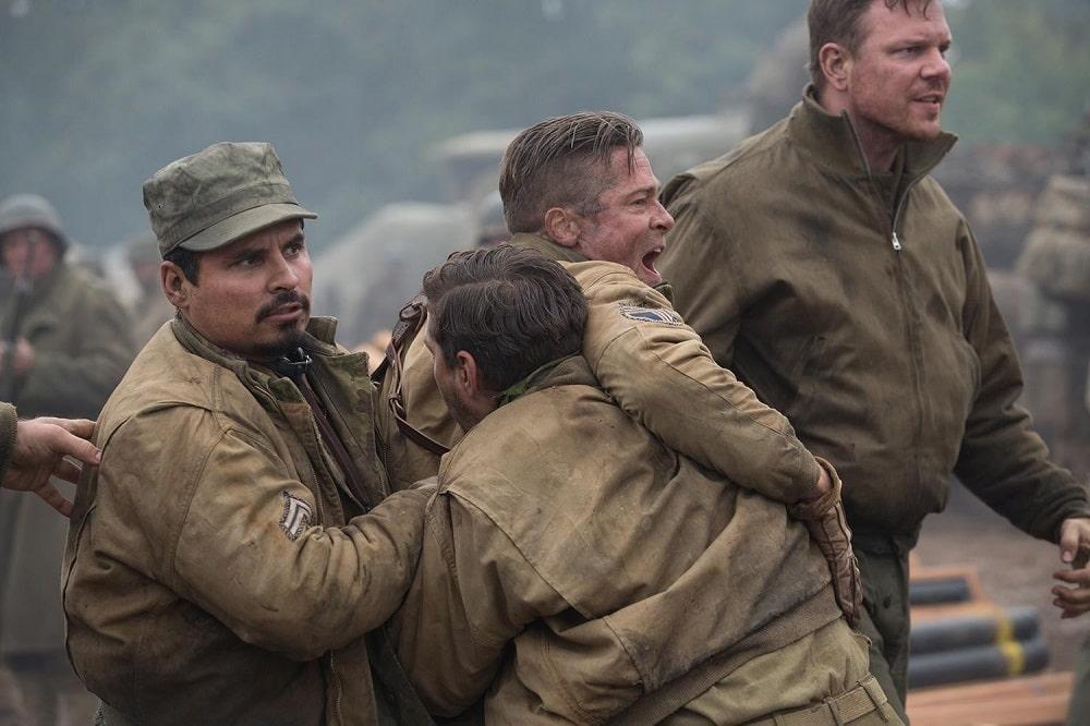 بهترین فیلم ها درباره جنگ جهانی اول و دوم - خشم (Fury)