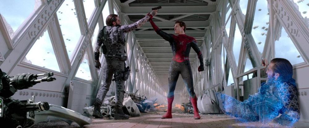 بهترین فیلم های علمی تخیلی سال 2019  - مرد عنکبوتی : دور از خانه(Spider-Man : Far From Home)