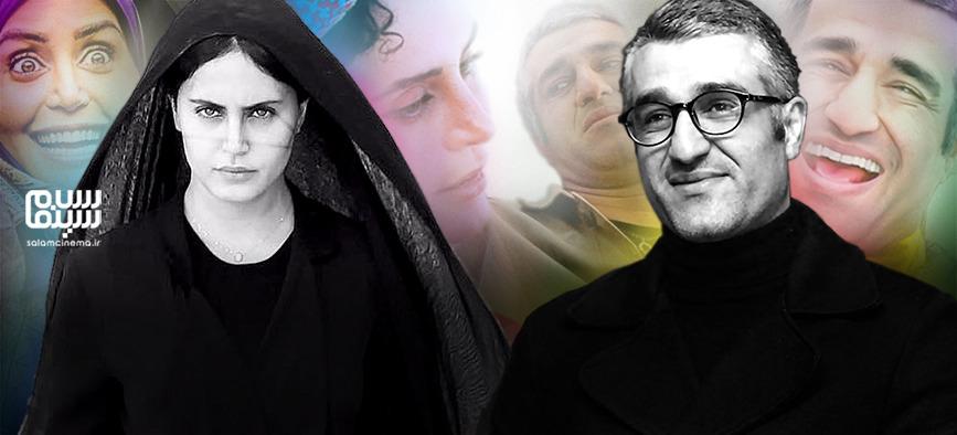 پژمان جمشیدی و الناز شاکردوست پرفروش ترین بازیگران سال ۹۸