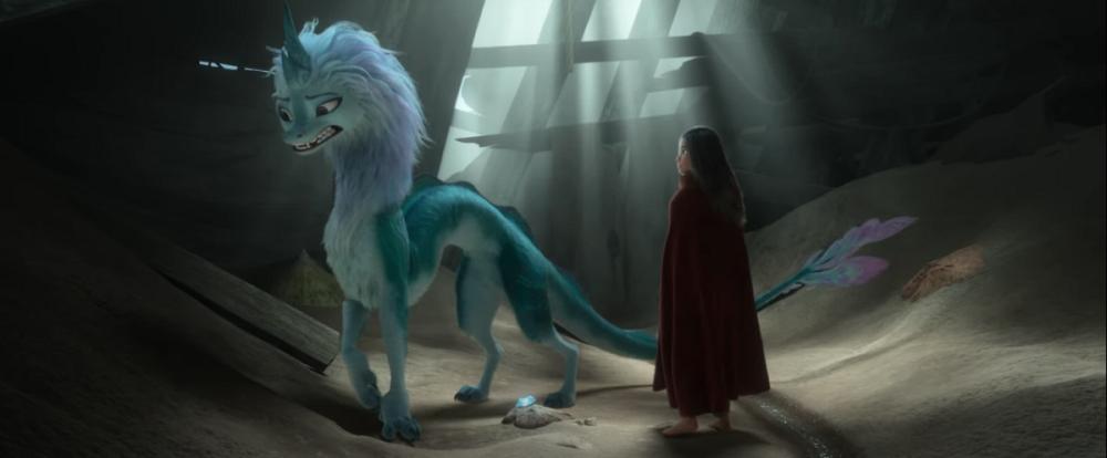 بهترین انیمیشنهای 2021-رایا و آخرین اژدها-1