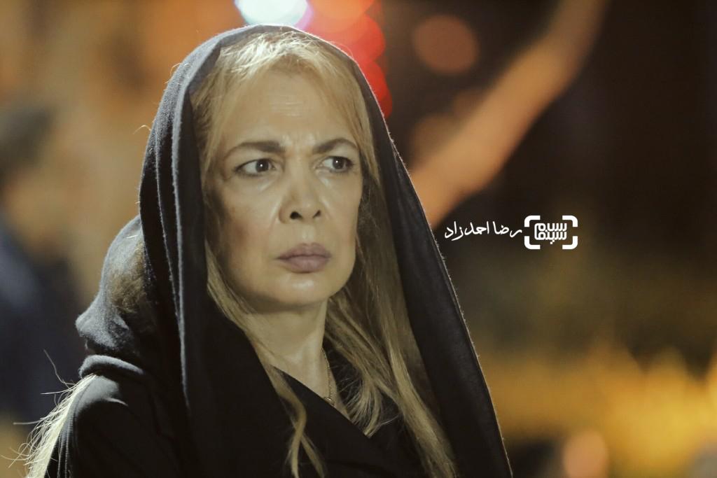 بیتا فرهی در مراسم یادبود عباس کیارستمی
