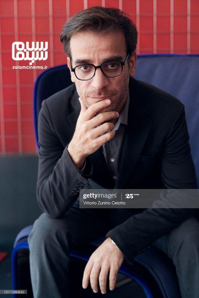 شهرام مکری در مراسم اکران «جنایت بی دقت» در جشنواره فیلم ونیز 2020