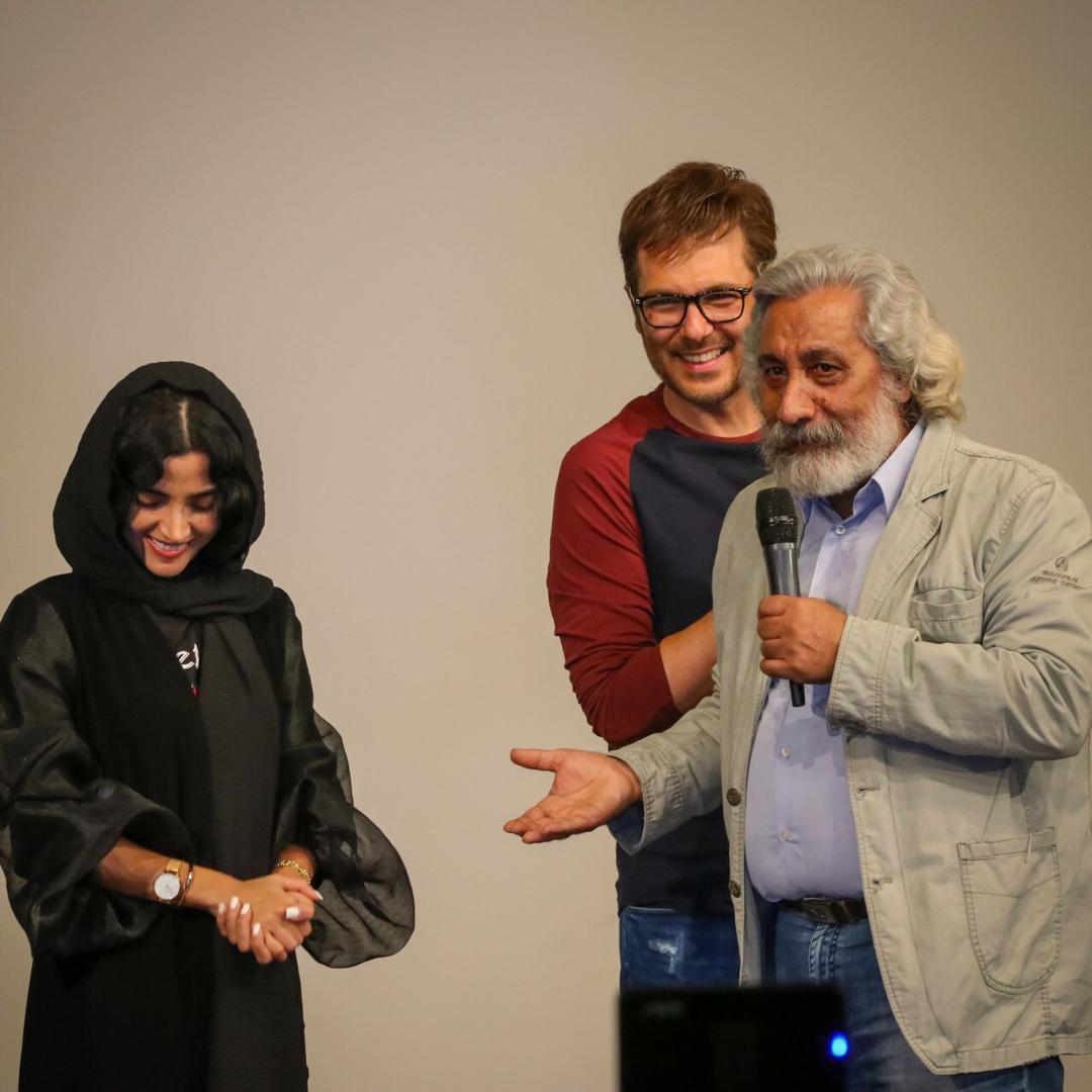 الهه حصاری - کوروش تهامی - فیلم «کروکودیل» - گزارش تصویری