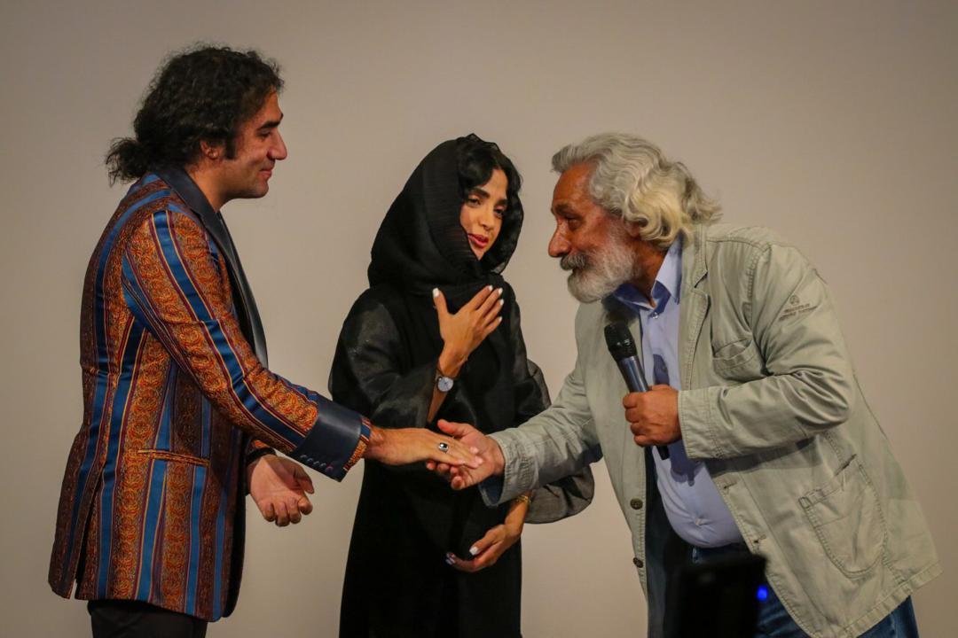 الهه حصاری - رضا یزدانی - فیلم «کروکودیل» - گزارش تصویری