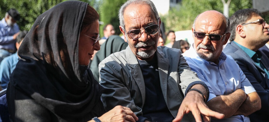مراسم تشییع داریوش اسدزاده/ گزارش تصویری