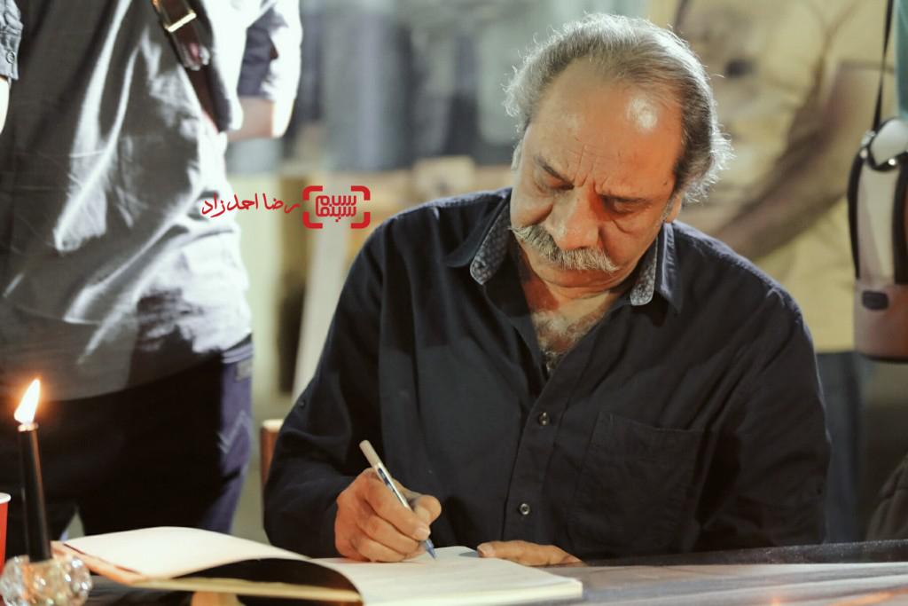 داریوش فرهنگ در مراسم یادبود عباس کیارستمی