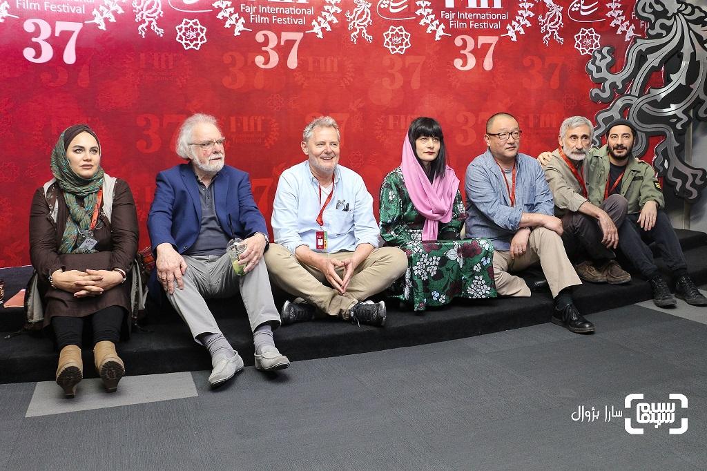 همه داوران بخش سینمای سعادت (مسابقه بینالملل) سی و هفتمین جشنواره جهانی فیلم فجر