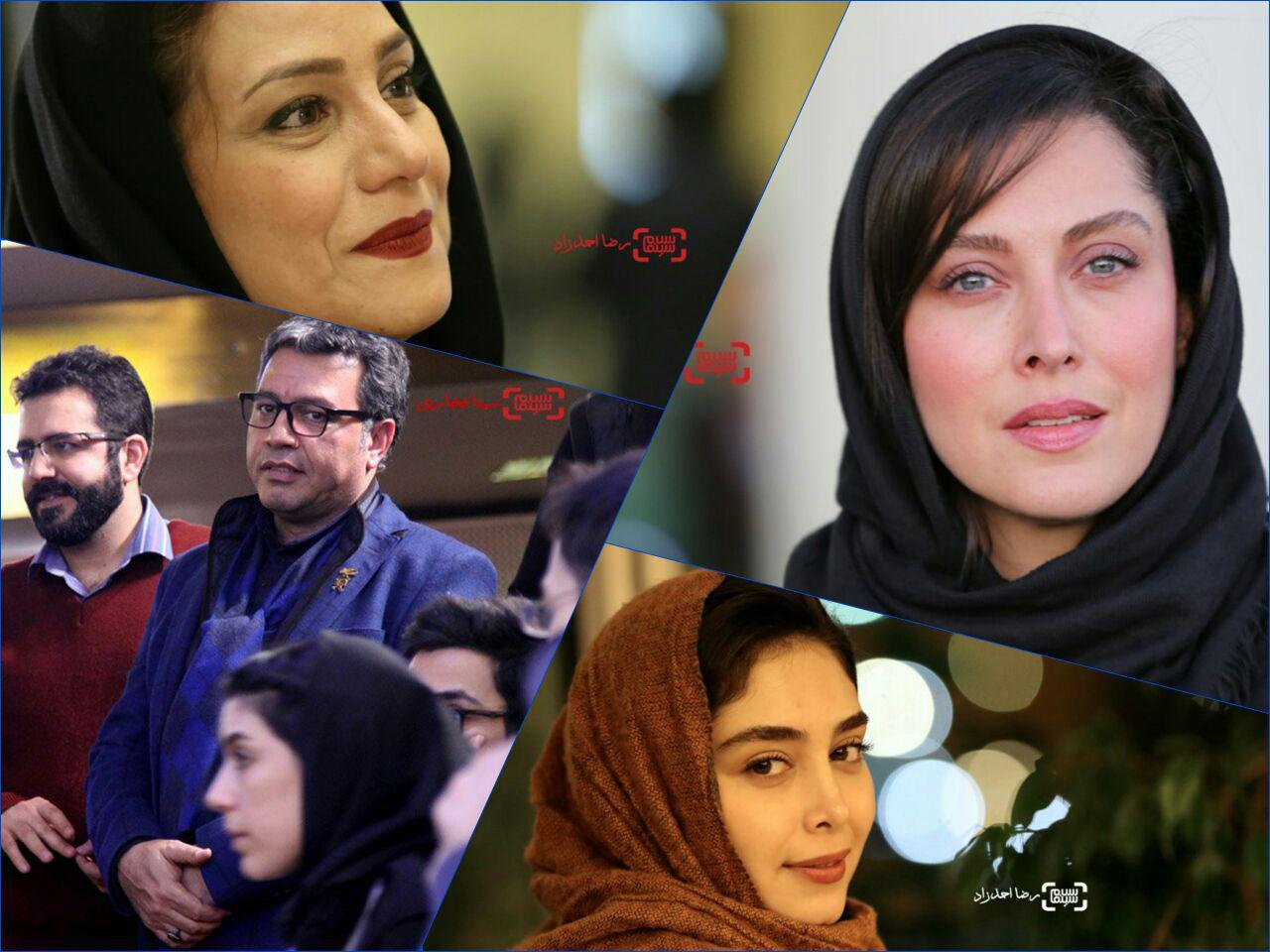 گزارش تصویری حواشی روز دوم جشنواره فیلم فجر 35