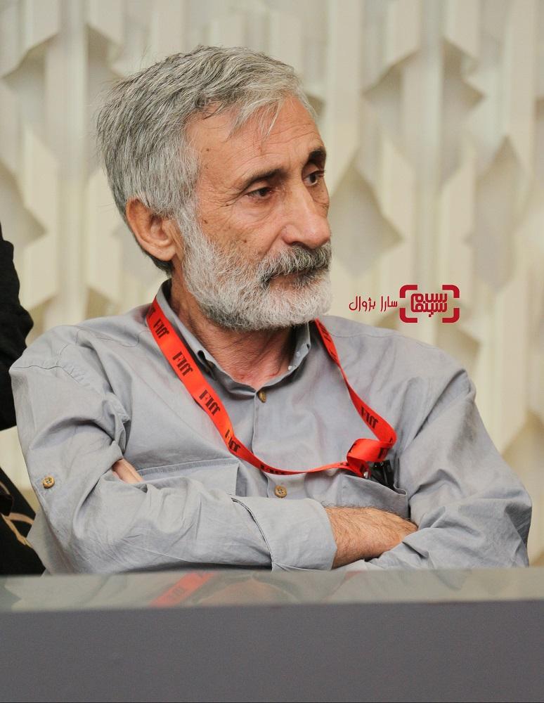 مظفر اوزدمیر نشست خبری داوران سی و هفتمین جشنواره جهانی فیلم فجر