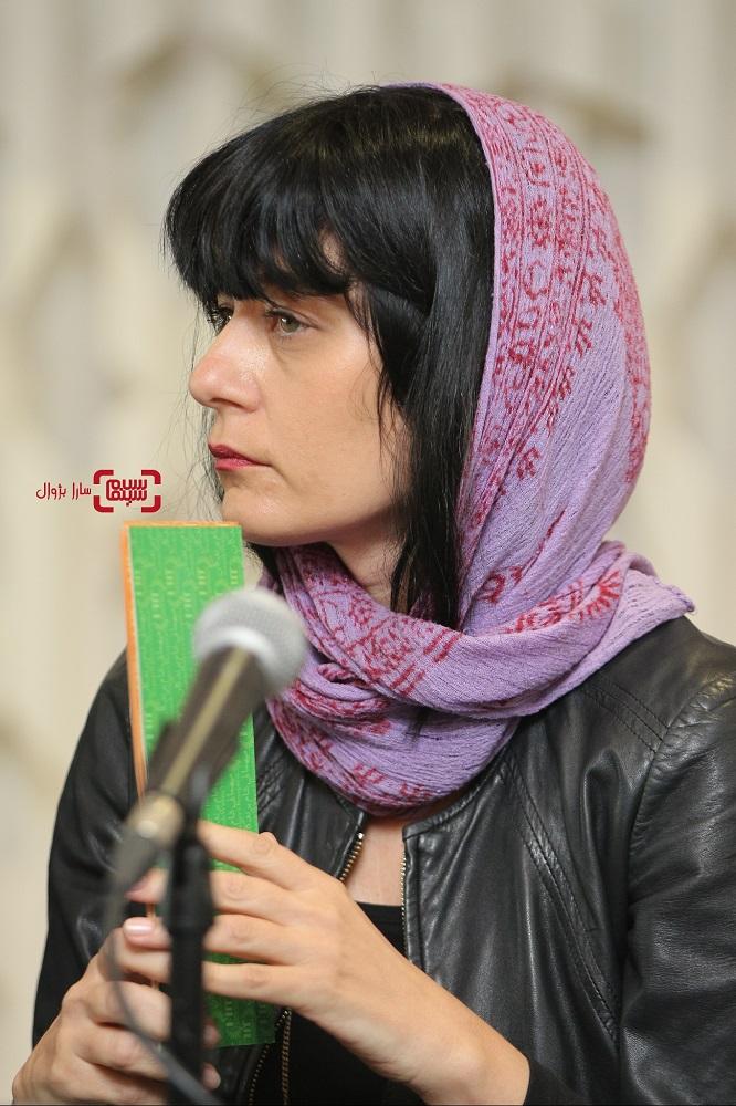 لابینا میتوسکا نشست خبری داورانسی و هفتمین جشنواره جهانی فیلم فجر