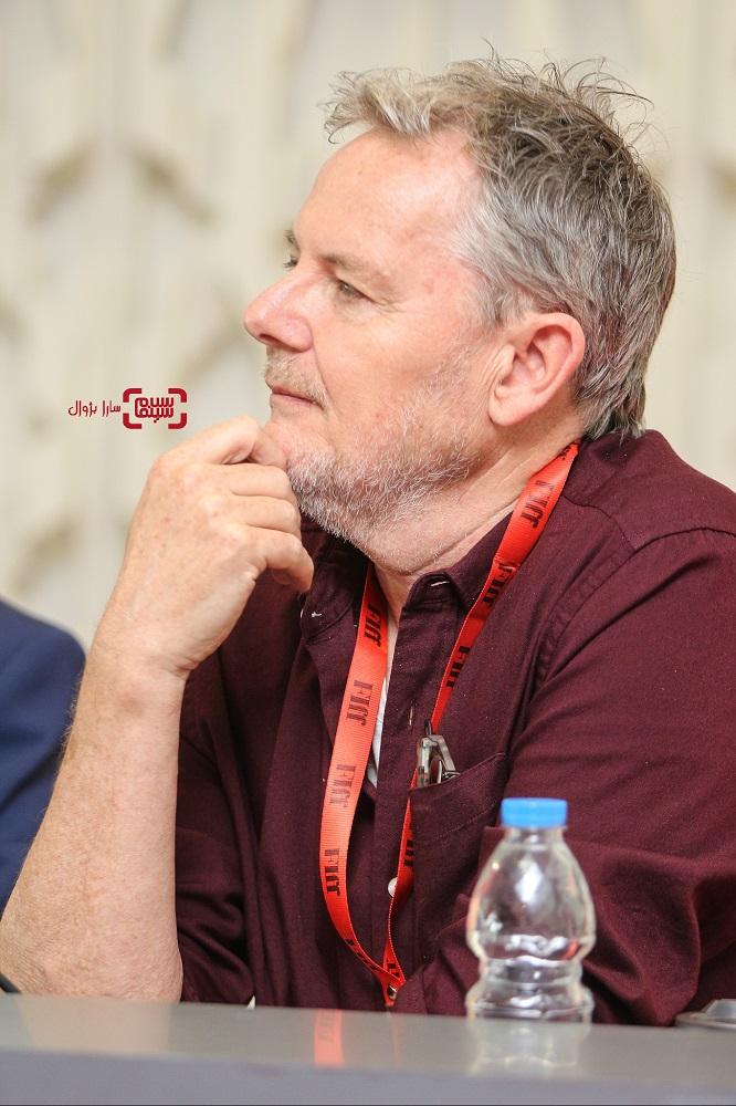 عکس نشست خبری داوران سی و هفتمین جشنواره جهانی فجر