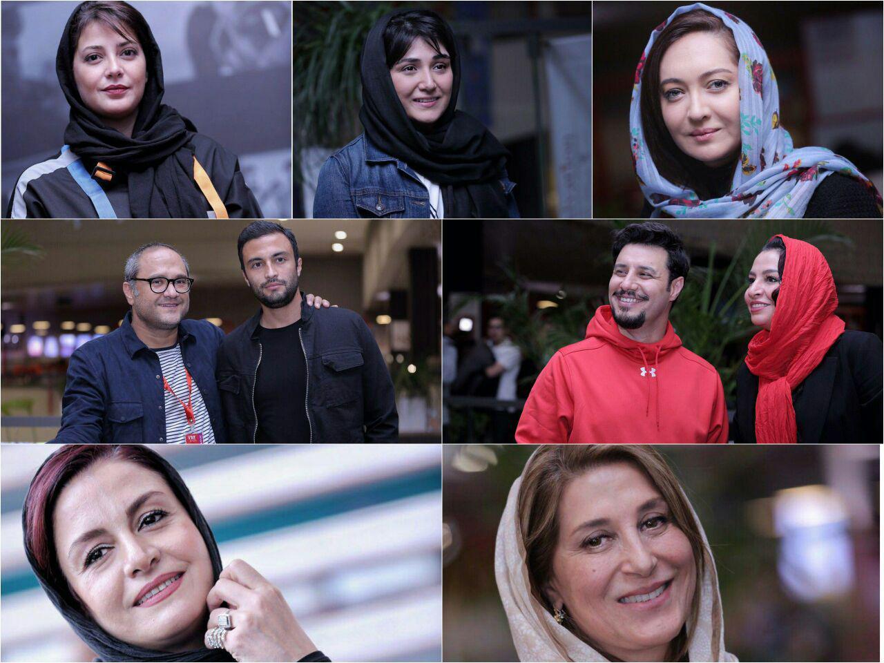 گزارش تصویری از روز سوم سی و ششمین جشنواره جهانی فیلم فجر
