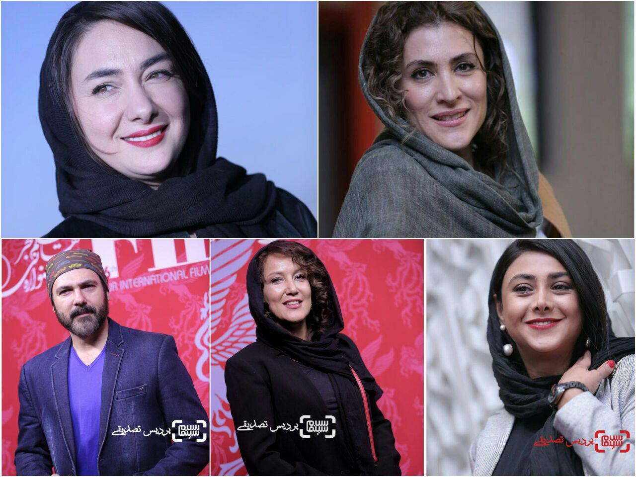 گزارش تصویری از روز پنجم سی و ششمین جشنواره جهانی فیلم فجر