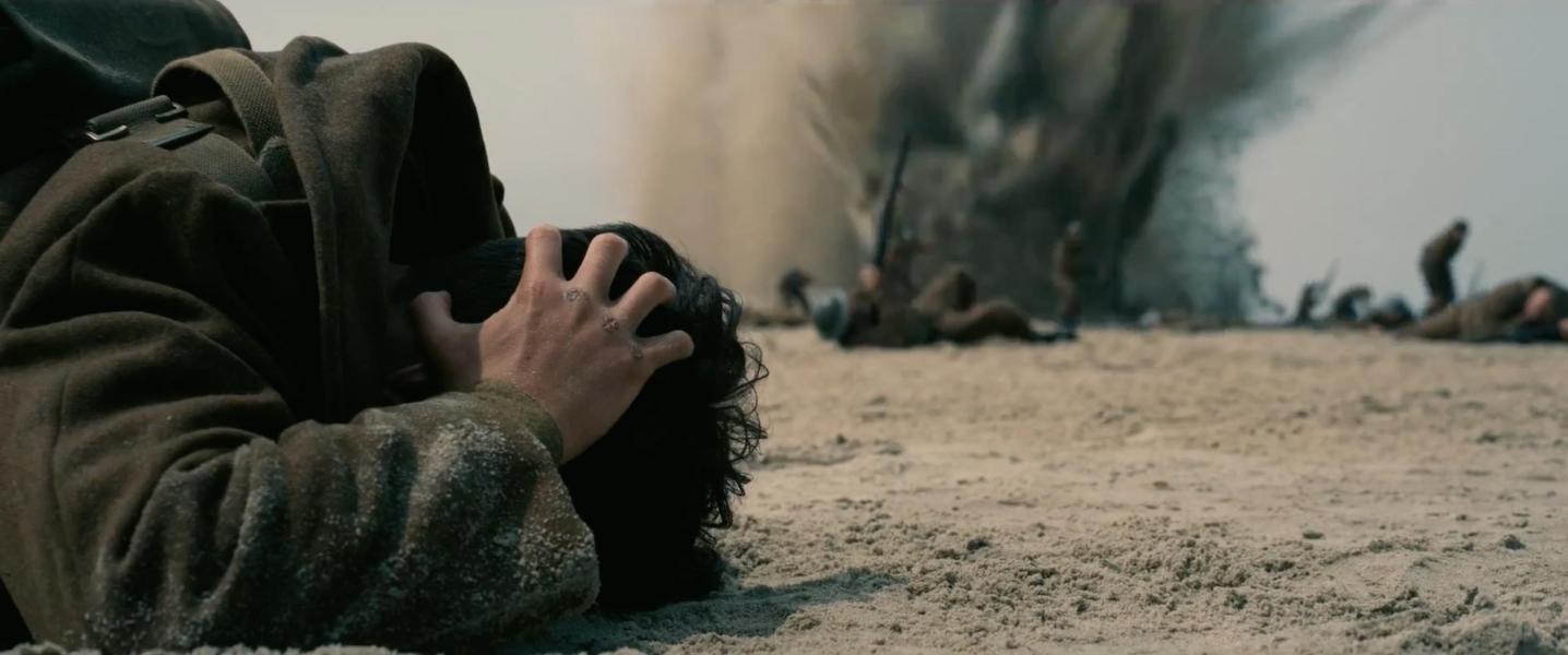 نمایی از فیلم سینمایی دانکرک