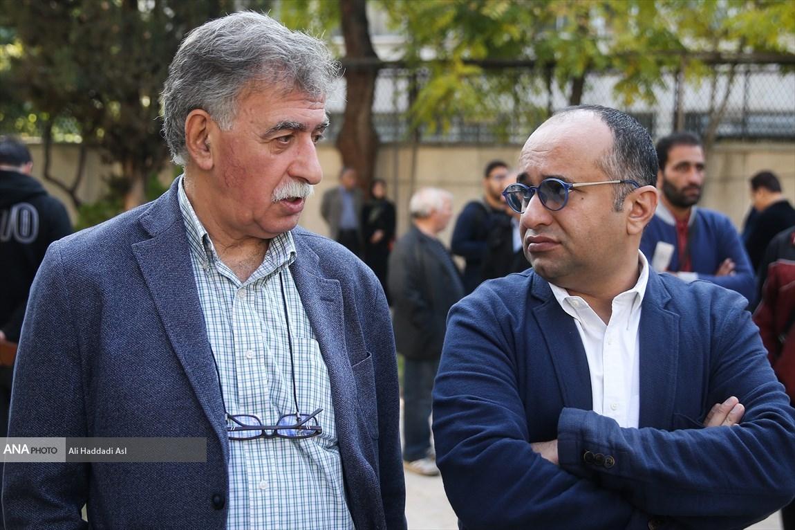 مراسم تشییع پیکر ابراهیم آبادی / گزارش تصویری