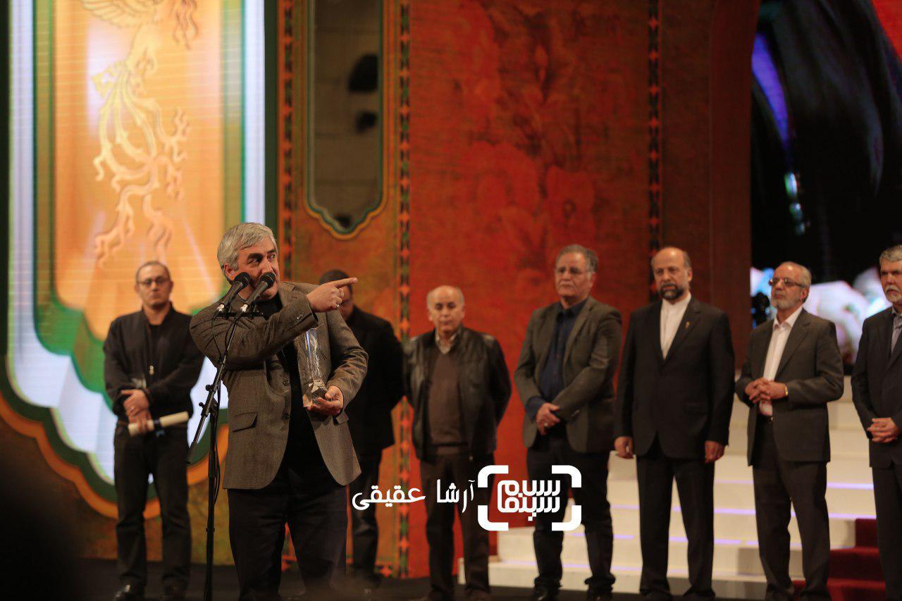 ابراهیم حاتمی کیا برنده سیمرغ بلورین کارگردانی برای فیلم «به وقت شام» از سی و ششمین جشنواره فیلم فجر