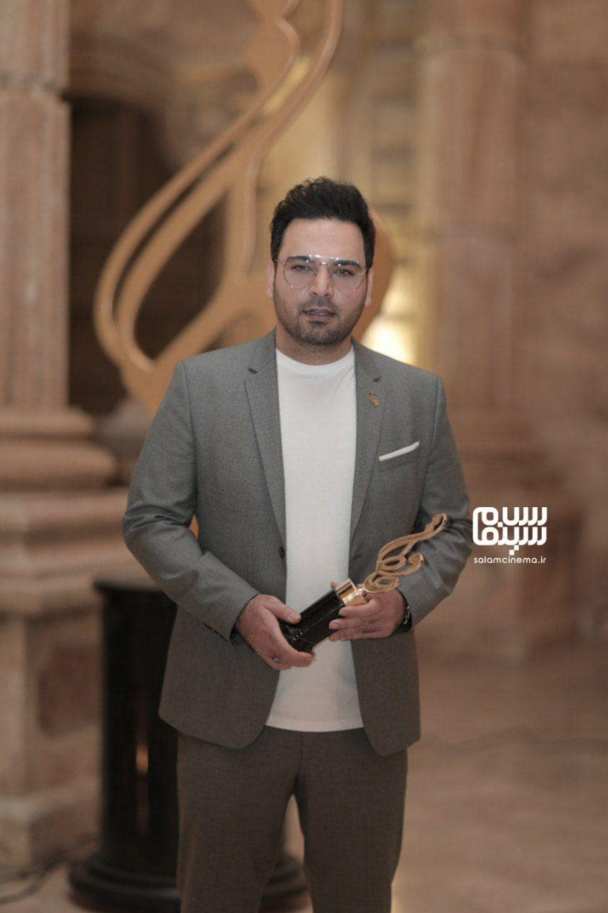 احسان علیخانی در بیستمین جشن حافظ
