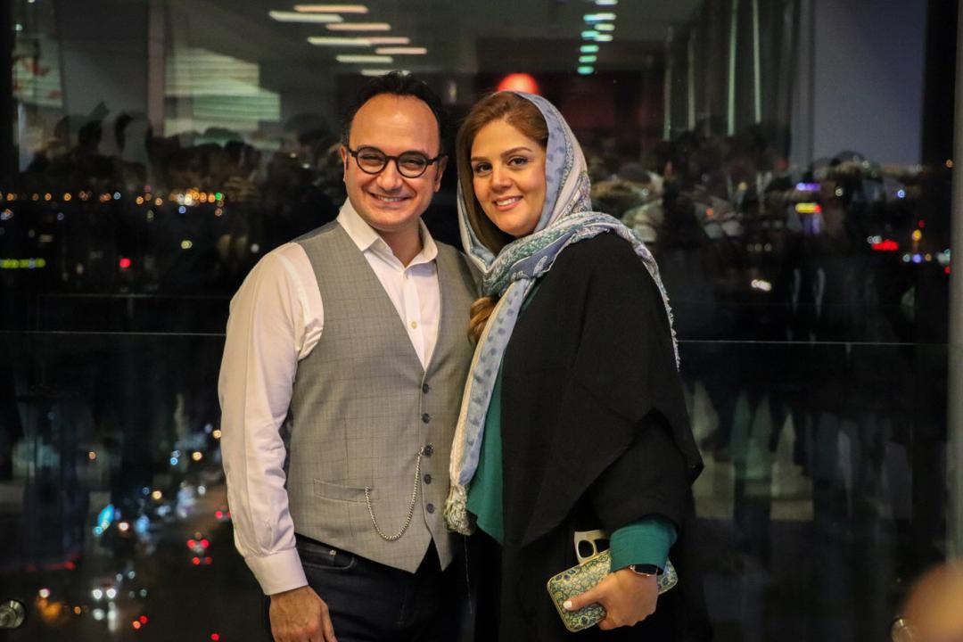 احسان کرمی به همراه پسر و همسرش - فیلم «کروکودیل» - گزارش تصویری