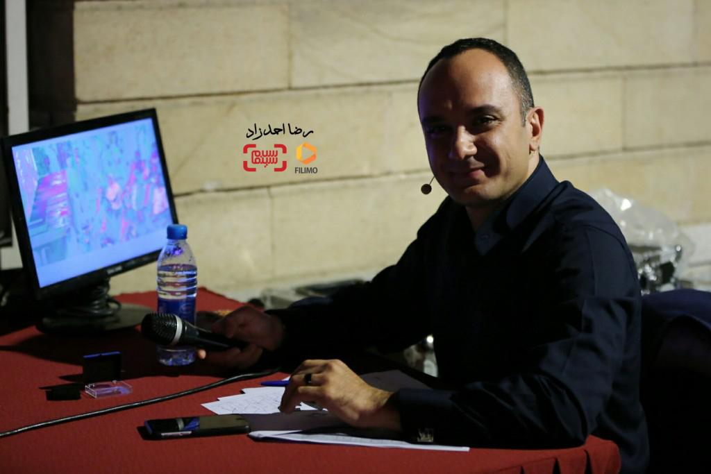 احسان کرمی مجری هجدمین جشن خانه سینما
