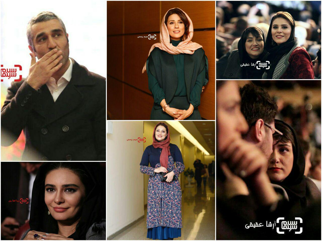 گزارش تصویری اختتامیه سی و ششمین جشنواره فیلم فجر1