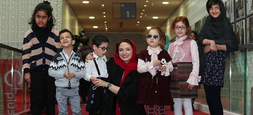 نمایش فیلمهای کودک برای کودکان نابینا کلید خورد