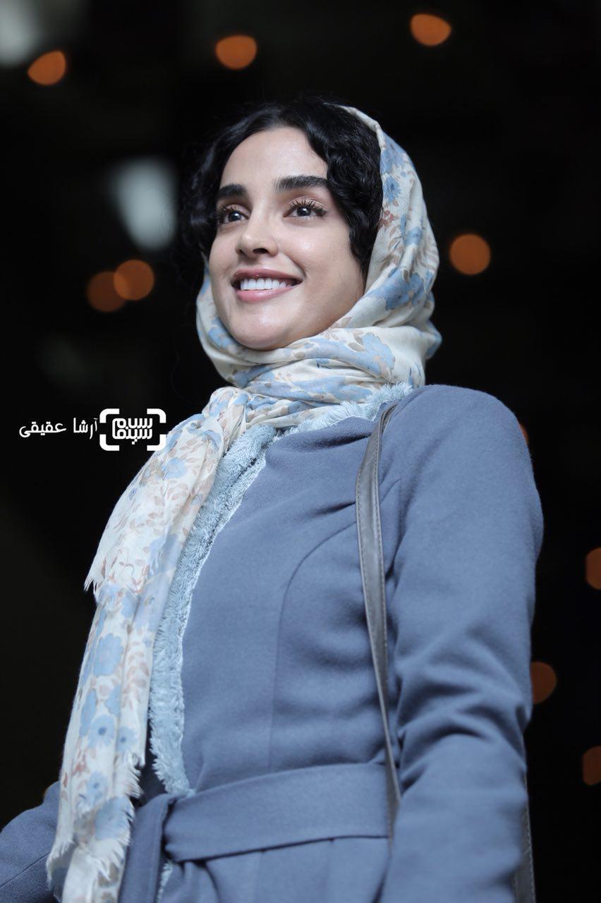 الهه حصاری در اکران فیلم «هایلایت» در سی و ششمین جشنواره فیلم فجر